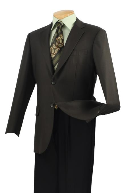 MensUSA.com Mens 100 Wool Tweed Sport Coat Classic Center Vent Olive(Exchange only policy) at Sears.com