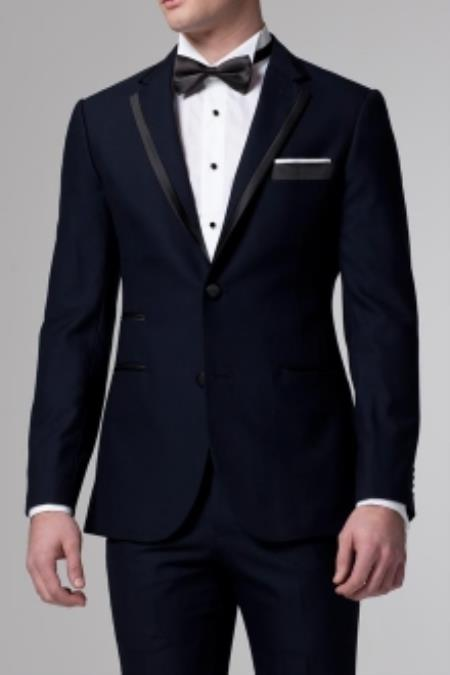 SKU#ER7834 Essential Midnight Blue Tuxedo $385