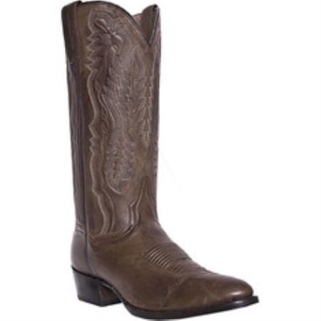 "MensUSA.com Dan Post Boots 13"" Saddle Brand DP2293 Chocolate(Exchange only policy) at Sears.com"