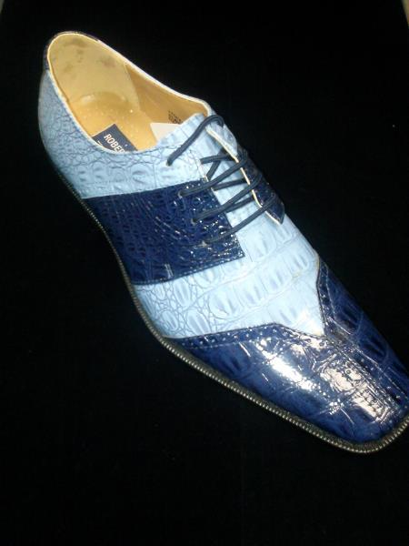 Light blue dress shoes mens