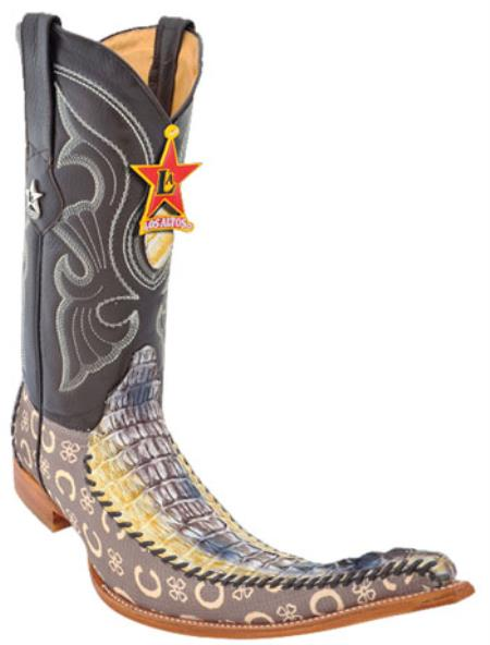 Caiman Alligator Boots Galleryhipcom The Hippest