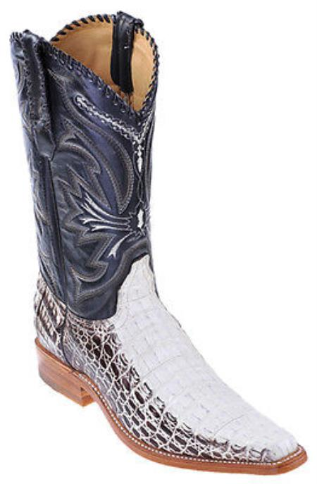 MensUSA.com Caiman Vintage Winter White Los Altos Men's Cowboy Boots Western Fashion(Exchange only policy) at Sears.com