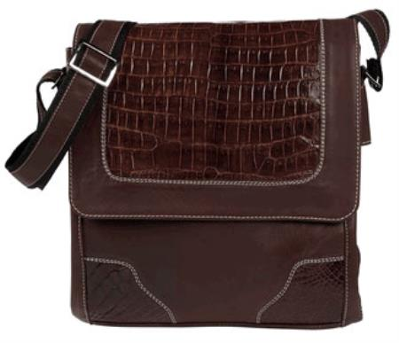 SKU#FK-38 Caimen Belly Shoulder Bag $377