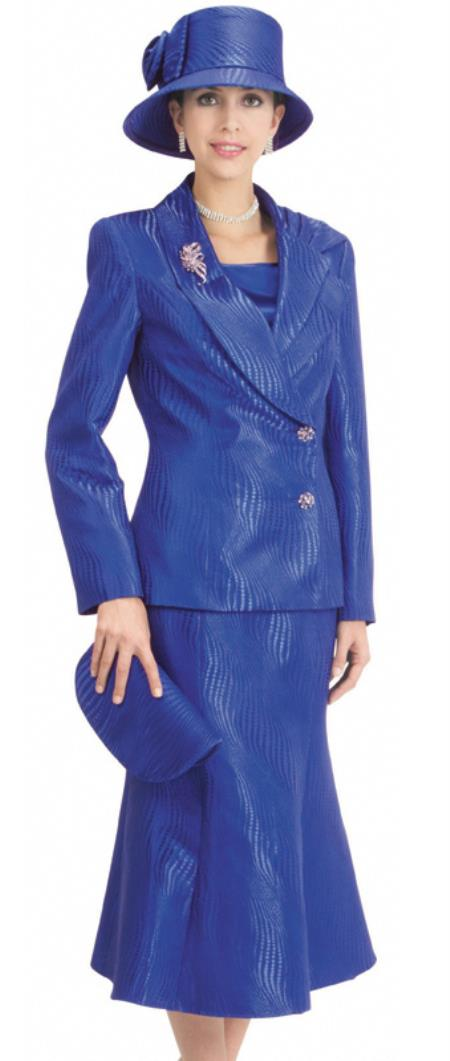 MensUSA.com Women 3 Piece Dress Set Royal(Exchange only policy) at Sears.com
