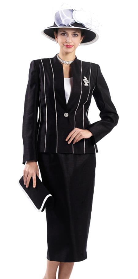 MensUSA.com Women 3 Piece Dress Set Black, White(Exchange only policy) at Sears.com