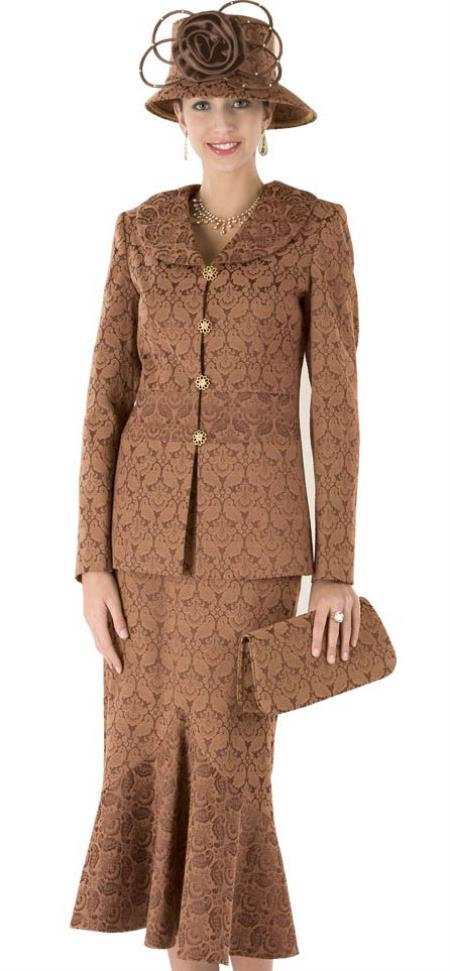 MensUSA.com Women Dress Set Camel(Exchange only policy) at Sears.com