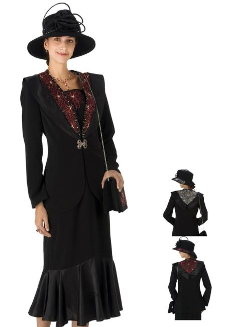 MensUSA.com Women Dress Set Black/Red, Black/White(Exchange only policy) at Sears.com