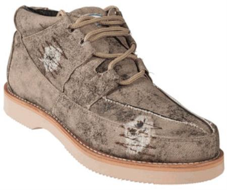 MensUSA.com Wild West Casual Denim Shoe Oryx(Exchange only policy) at Sears.com