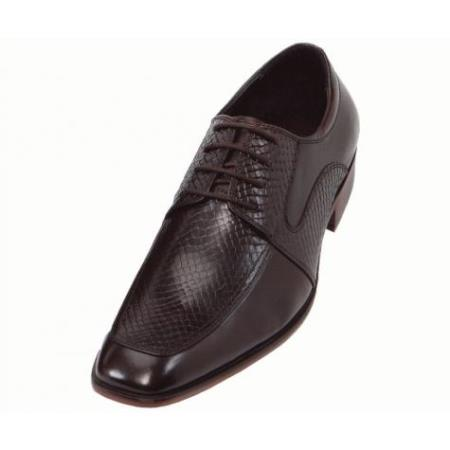SKU#KA6692 Mens Hand Made Leather Shoes -  Black / Brown / Tan  $99