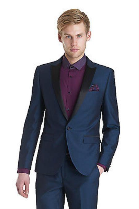 SKU#KA6399 Men Designer Wedding Groom Tuxedo Dinner Casual Suit Coat Jacket Trouser Blazer