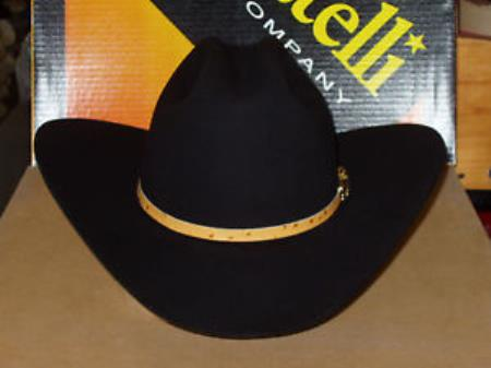 SKU#KA6933 Serratelli Designer 10x Azteca V/3 Western Cowboy Hat