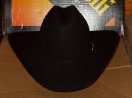 SKU#KA6970 Serratelli Designer 4x Seminole Western Cowboy Hat