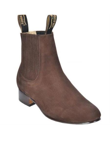 Nobuck Short Boot