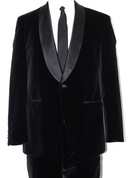 Velvet Tuxedo – Black