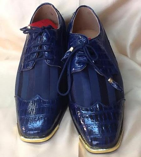 Two Tone Shoes Navy