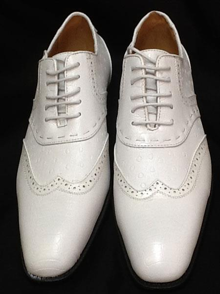 White Two Tone Shoes