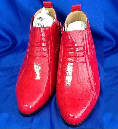 Red Two Tone Shoes