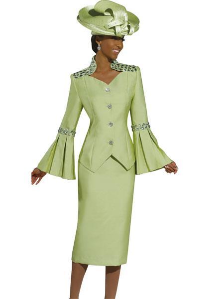 MensUSA.com Women's Donna Vinci Green Glamour Suit at Sears.com