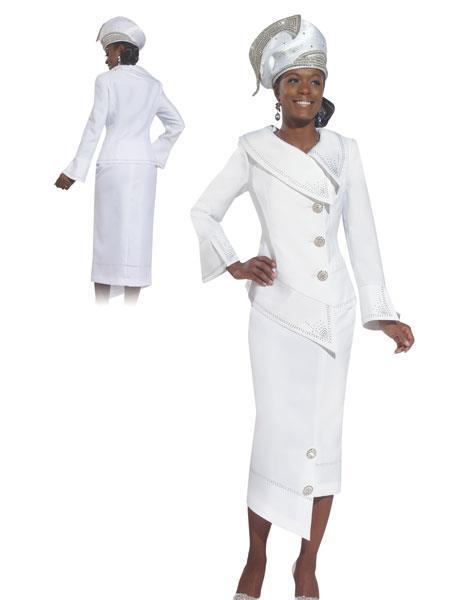 MensUSA.com Women's Donna Vinci Sparkling Couture Rhinestone Suit at Sears.com