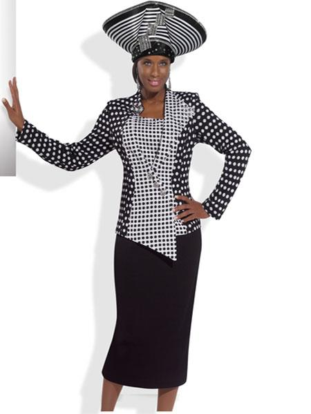 MensUSA.com Women's High Quality Formal Suit by Donna Vinci Knits at Sears.com