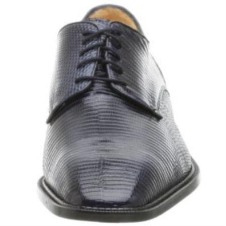 SKU# PJQ672 Belvedere-Olivo-genuine lizard upper fully leather-lined interior cushioned $270