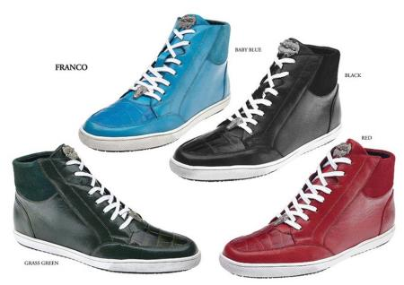 Belvedere Mens Shoes Available Colors In Black,Taupe, Spring Grey and Purple