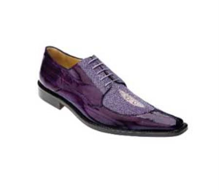 Eel Oxford Shoes