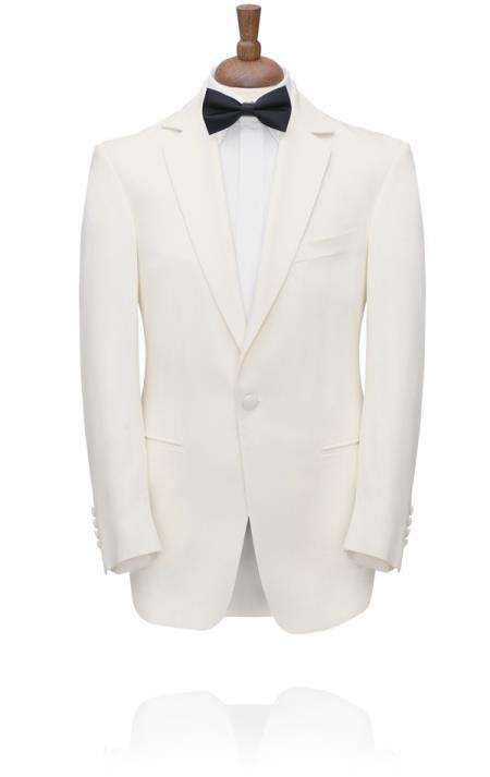 white tuxedo jacket