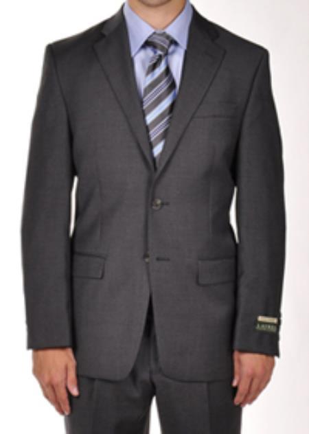 SKU#PN82 Ralph Lauren Charcoal Dress Suit