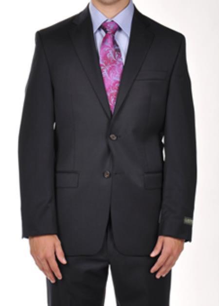 SKU#PN96 Ralph Lauren Solid Navy Dress Suit Separates $275