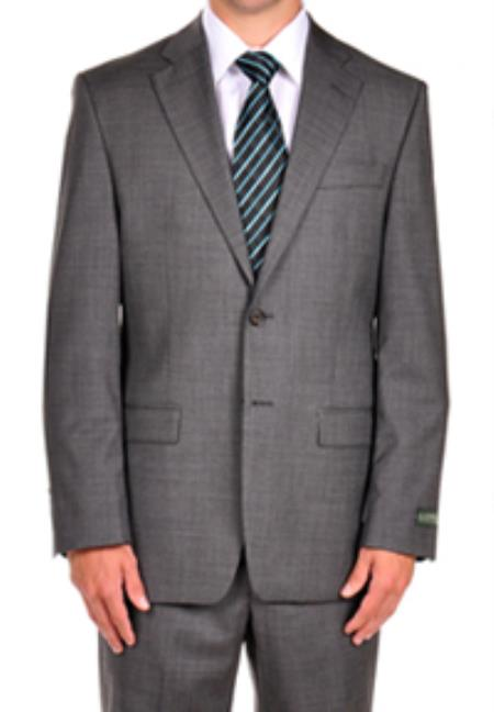 SKU#PN98 Ralph Lauren Steel Grey Dress Suit Separates $349