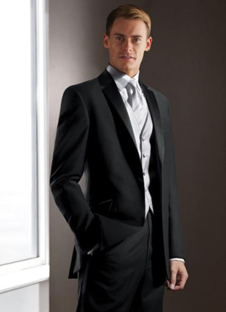 SKU#PN20 Calvin Klein Crystal One Button Tuxedo Rental $139