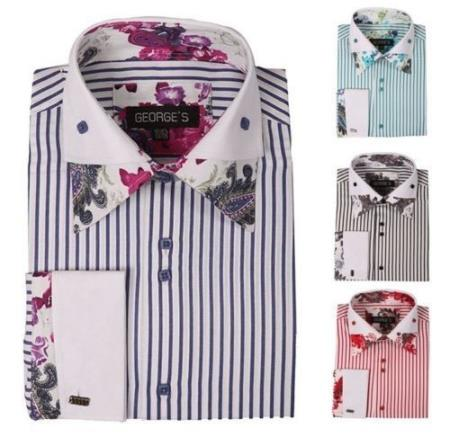 floral striped shirts