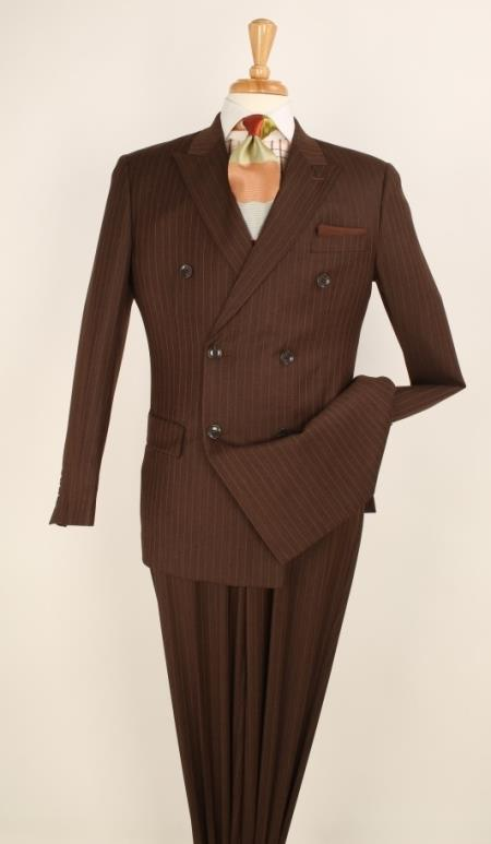Sku Pnn68 With Side Vent Jacket Pleated Pants Side Vents Pin