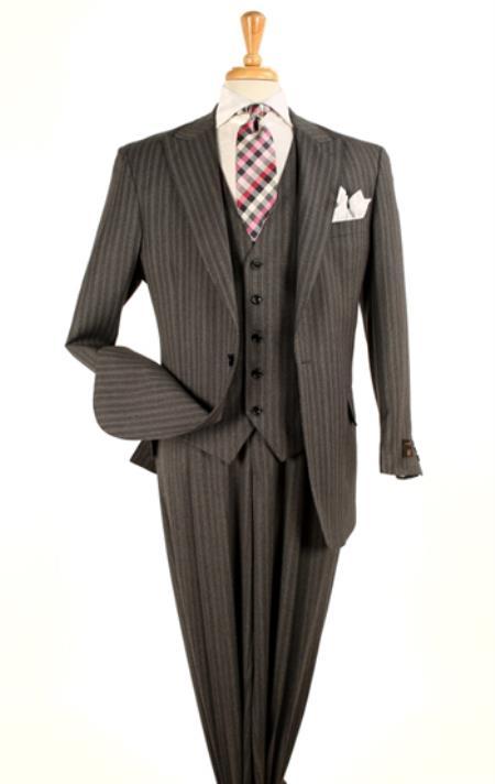 fashion 3 piece suit