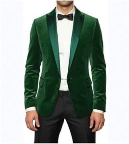 Mens Stylish Designer Green