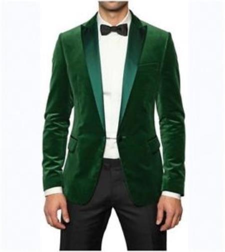 Mens Stylish Designer Green