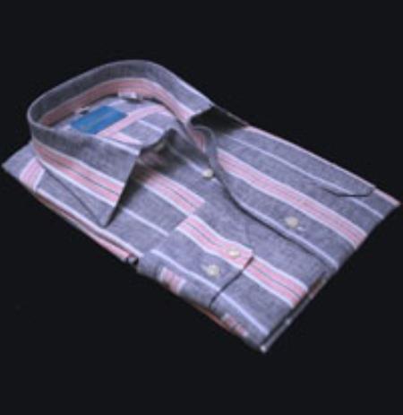 Valenti 100% Linen Stripe
