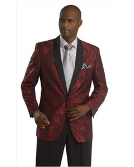 Burgundy Suit Jacket for Men- A Refreshing Appearance