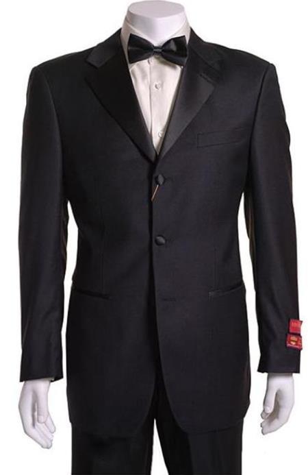 Retail: $1200 Most Luxurious Classic Designer 3 button Styled jacket Notch Lapel Tuxedo Suit