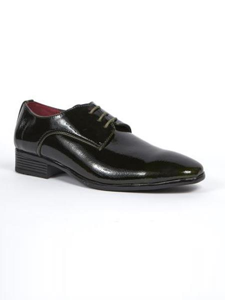 Mens Dress Shoes Available in Green ~ Wine ~ Maroon Colors