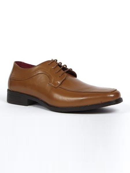 Mens Dress Shoes Cognac