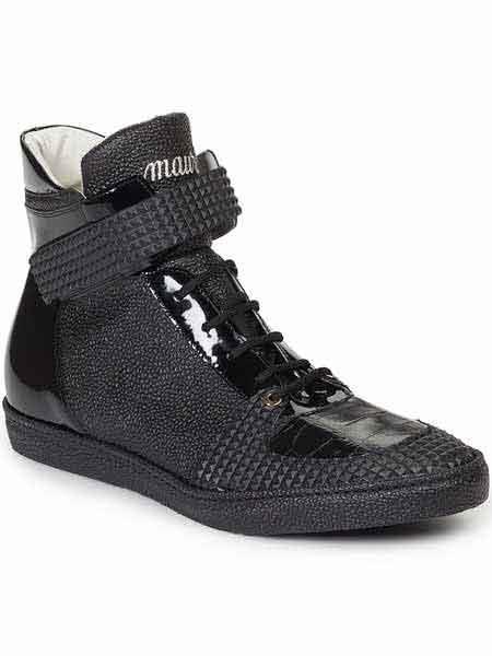 Black Mauri Shoes Italy