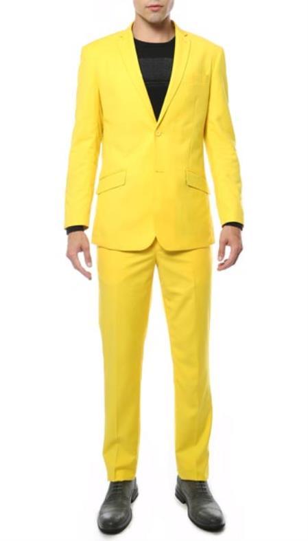 Yellow 2 Piece Classic