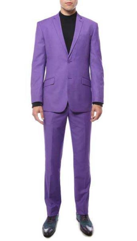 Purple 2 Button Classic
