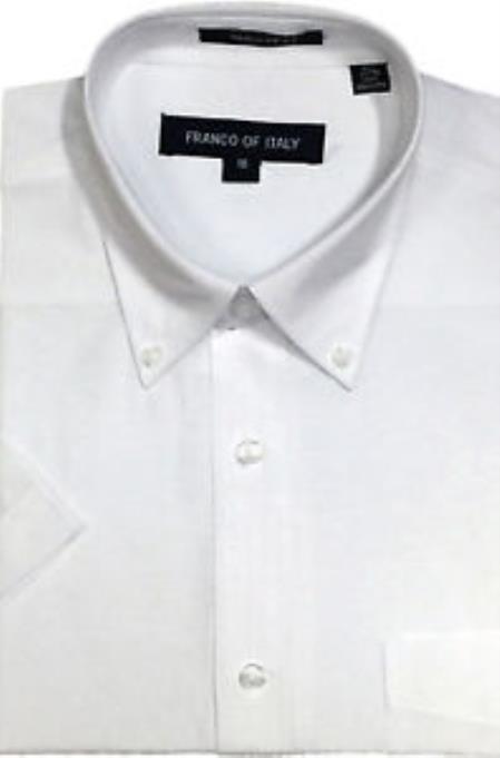 Basic Button Down White