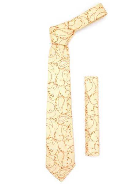 Orange Design Gold Fashionable