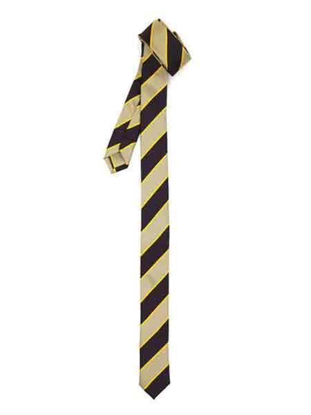 Lined Stripe Beige Brown