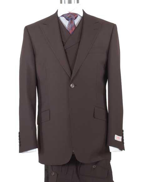 Mens 3 Piece Peak