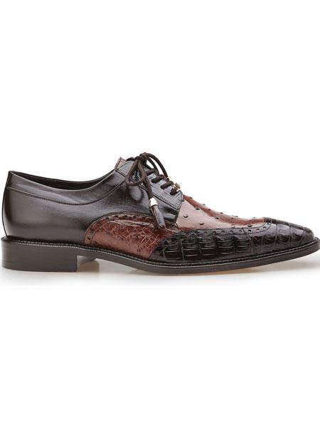 Brown/Tobacco Roberto Ostrich And